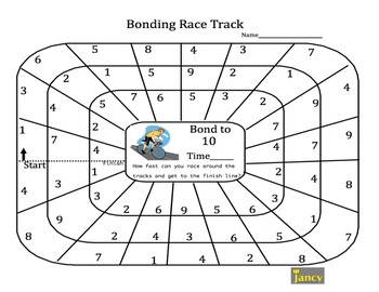 Number Bonds to 10 Race Track