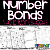 Number Bonds to 10 Worksheets and Practice Distance Learning