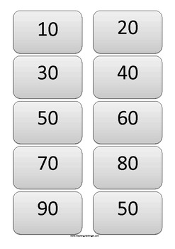 Number Bonds to 100 and Change from $1.00