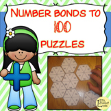 Number Bonds to 100 Puzzles / Jigsaws