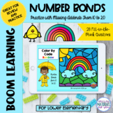 Number Bonds to 20 Boom Learning℠ | Rainbow