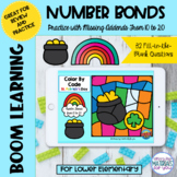 Number Bonds to 20 Boom Learning℠ | St Patricks