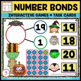 Number Bonds to 20 Games Halloween