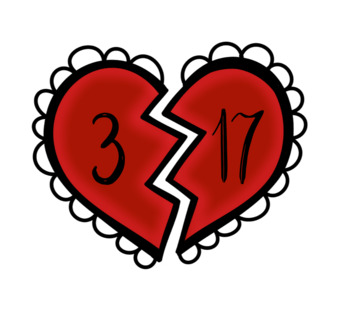 Number Bonds to 20 (Hearts)