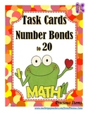 Number Bonds to 20 - Task Cards