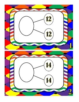 Number Bonds to 40 - Task Cards