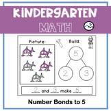 Number Bonds to 5 Center Game: Eureka Math Module 4 Topic A