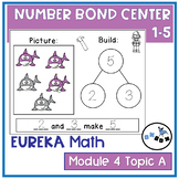 Number Bonds to 5 Center Game: Eureka Math Module 4 Topic A