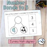 Number Bonds to 5 DIGITAL Eureka Math Mod 4 Topic A Center