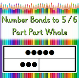 1-06: Step1: Number Bonds to 5 and 6 - Part-Part-Whole wit