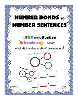 Number Bonds to Number Sentences: A FREE Activity To Help