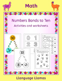 Number Bonds to Ten worksheets, posters and activities