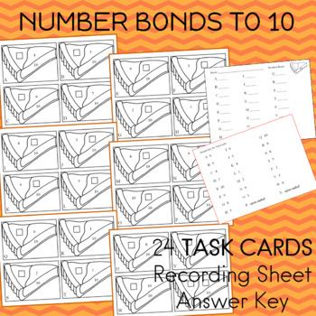 Number Bonds to Ten Pumpkin Pie