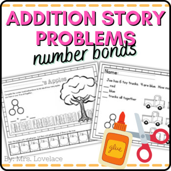 Number Bonds with Artwork and Story Problems - Singapore math