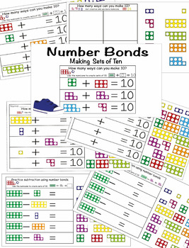 Number Bonds with Numicons