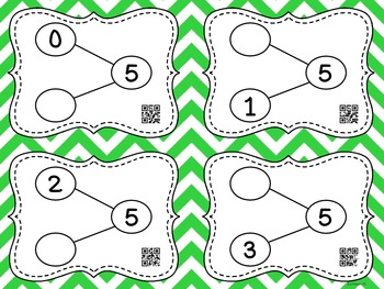 Number Bonds with QR Codes