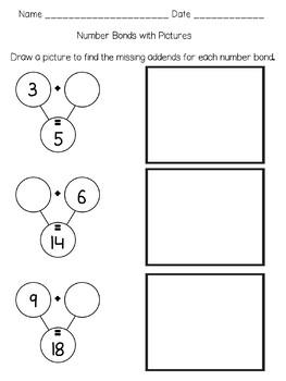 Number Bonds with Ten Frames
