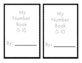 Number Book 0-10
