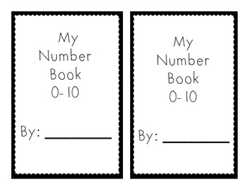 Number Book 0-10