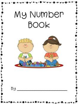 Number Book 0 - 15