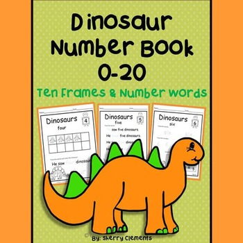 Dinosaurs Number Book 0-20