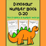 Dinosaurs Number Book 0-20 Distance Learning