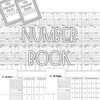 Number Book 0-20