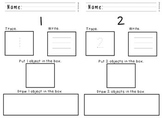 Number Book 0-9 Trace, Write, Draw Numbers