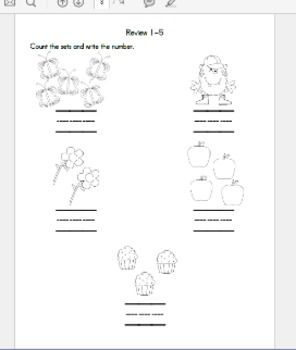 Number Book (1-10)