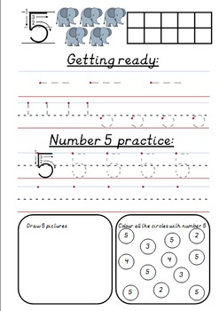Number Book 1 - 10
