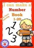 Number Book 1-20 - Early Learning