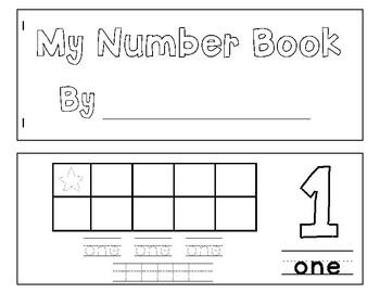 Number Book 1-5