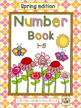 Number Book 1-5, Spring Edition