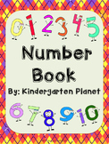 Number Book - 0 to 20