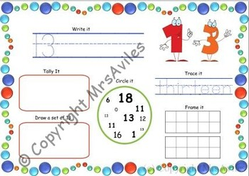 Number Book 11-20