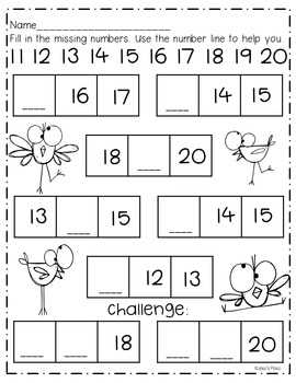 Number Book 11-20, Printables, Center, and more! by Josie ...