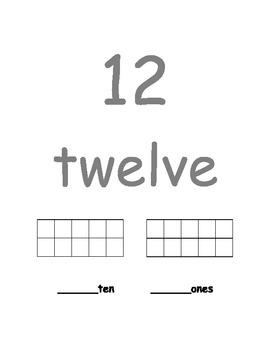 Number Book 11-20