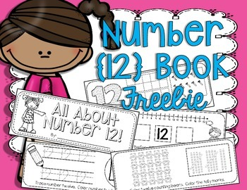 Number Book {12} FREEBIE!