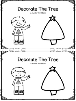 Number Book - Decorate The Tree