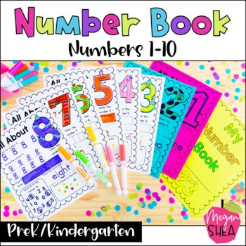 Number Book. Kindergarten/Preschool Math