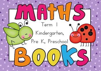 Number Book Term 1 Kindergarten