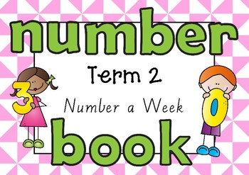 Number Book Term 2 Kindergarten