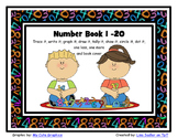Number Book or worksheets 1 - 20