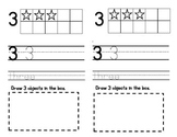 Number Book with Tens Frames