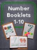 Number Booklet 1-10