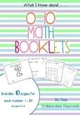 Number Booklets 0-10