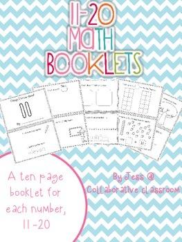 Number Booklets 11 - 20