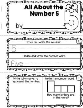 Number Booklets Bundle {1-20}