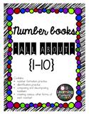 Number Books {1-10}