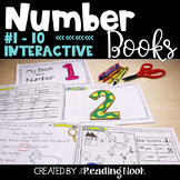 Number Books   Interactive Counting Books #1-10